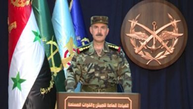 Photo of Official statement of the Syrian army Command declares outcomes of Aleppo operation