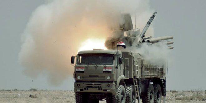 Syrian missile systems بانتسير