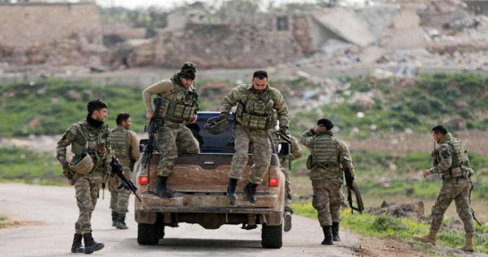 Violent clashes broke out between the Turkish-backed factions Sultan Murad and Hamza