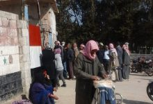 "Photo of ""SDF"" obstruct the arrival of flour to ""Kameshly"" bakery to create a bread crisis in the city"