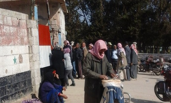 """""""SDF"""" obstruct the arrival of flour to """"Kameshly"""" bakery to create a bread crisis in the city"""