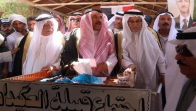 """Photo of The """"Al-Okidat"""" tribe demands an Arab administration for the Deir Al-Zour regions and to open an investigation into the assassinations."""