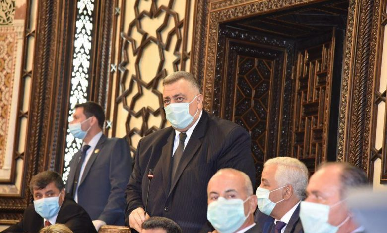 The Syrian People's Council elects its president and members of its office