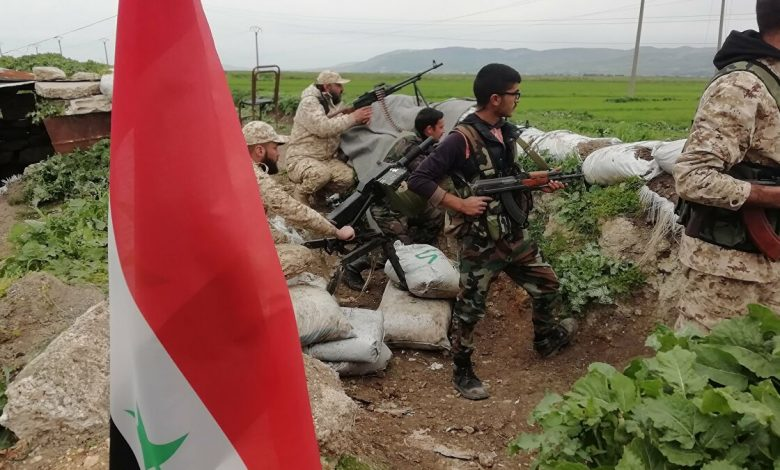 Syrian army repels attack on Salamyeh in Hama