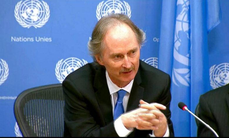 """Differences among members of the Syrian Constitutional Committee on the agenda of its next meeting """"Pedersen said"""""""