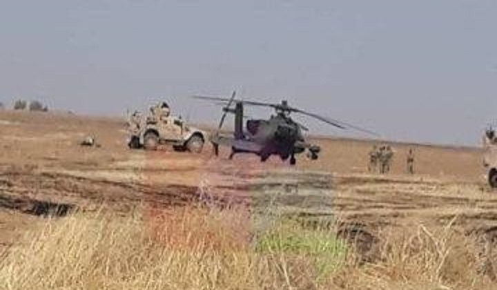 The truth behind the fall of a US helicopter in Hasaka