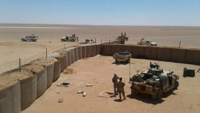 Photo of Military maneuvers in Al-Tanf, in cooperation with the American factions.