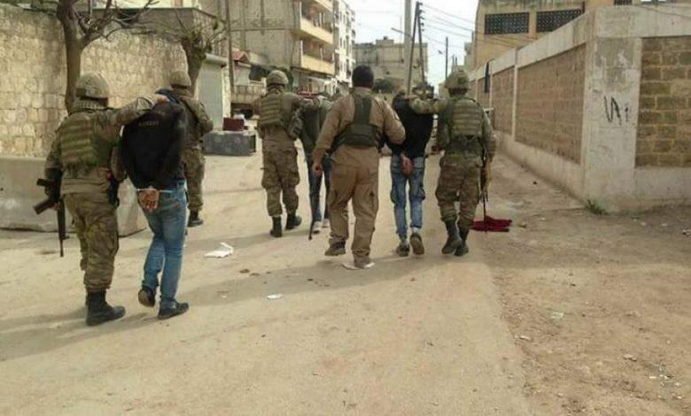 The Turkish factions have started an arrest campaign against the civilians, and accusing them of dealing with the SDF.