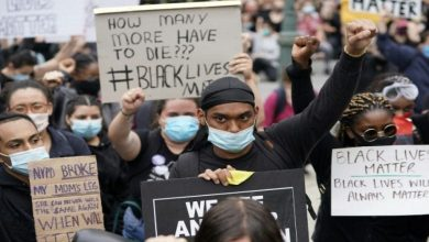 Photo of The renewal of the anti-racism protests in the US following the killing of a young man.
