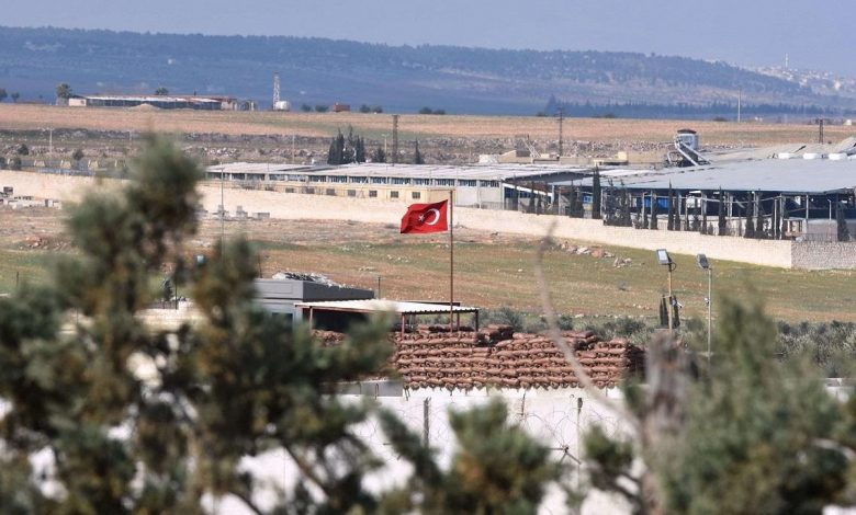 Turkish observational point being removed from Shekh Aqeel, Aleppo, Syria