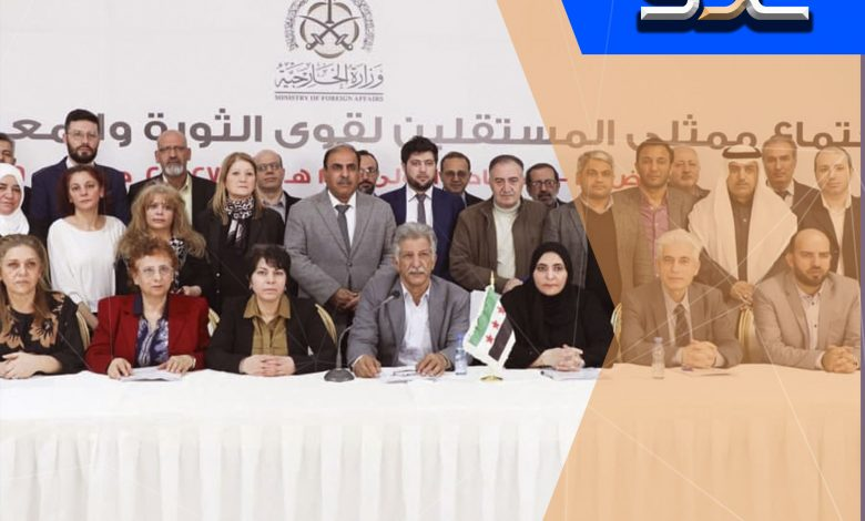 Photo of The withdrawal of / 15 / Saudi-backed members from the Opposition Negotiating Body