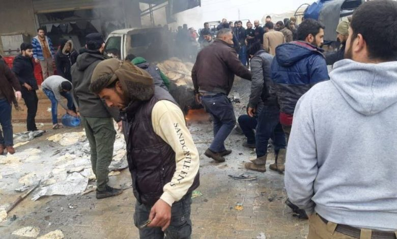 One killed and many wounded due to an IED explosion in Aleppo countryside