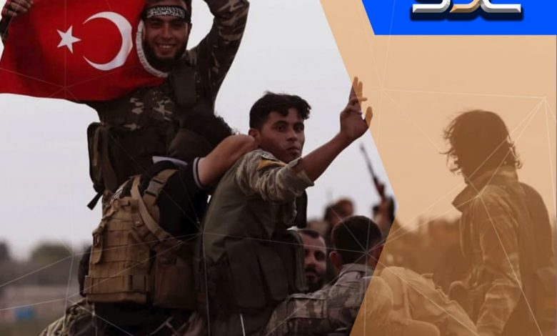 Photo of Turkey brings a special armed group to Ras al-Ain in the countryside of Al-Hasakah.