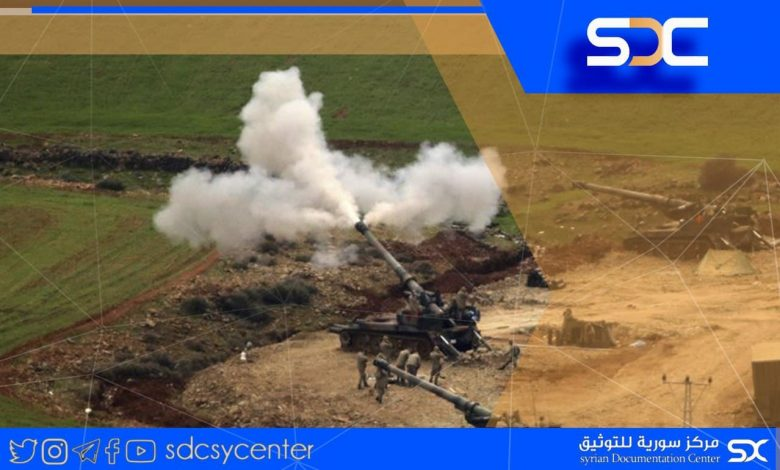 The Turkish attacks on the northern countryside of Aleppo are renewed.