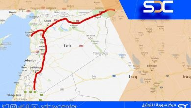 "The ""M4"" highway as economically and militarily vital strategic artery for Syria"