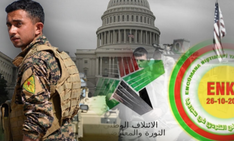 The USA seeking to establish a Kurdish state in Syria continues ... Washington aims at dividing the country and targeting the presidential elections
