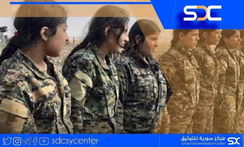 The SDF kidnaps minors and forces them to fight within its ranks.