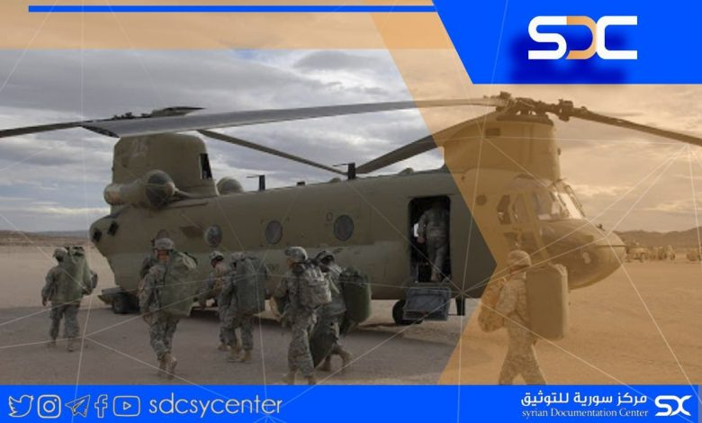 """American forces transfer a new batch of """"ISIS"""" militants to Deir Ezzor countryside"""