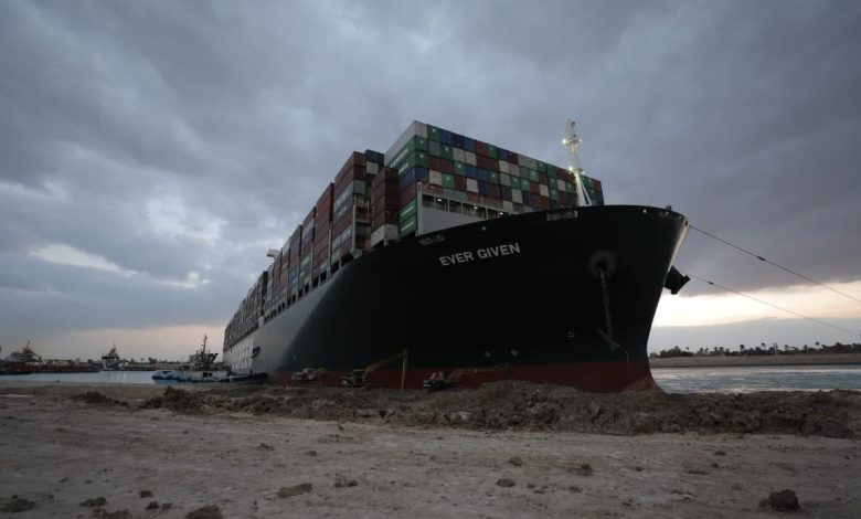 Egypt officially reserves the ship that caused the closure of the Suez Canal.
