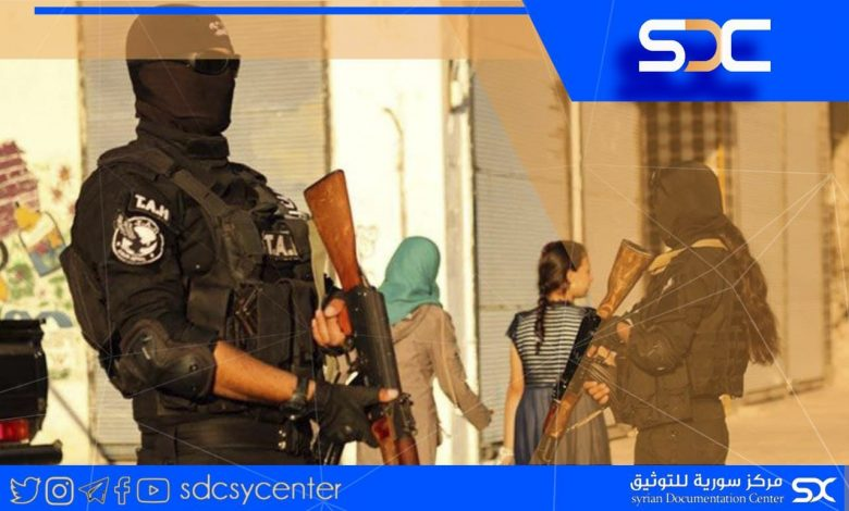 The SDF announces a complete and partial curfew in the areas under its control.