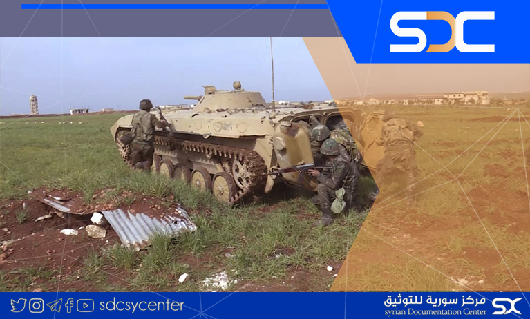 The Syrian army is targeting the movements of Al-Nusra in the countryside of Aleppo and thwarting an attack in Idlib.