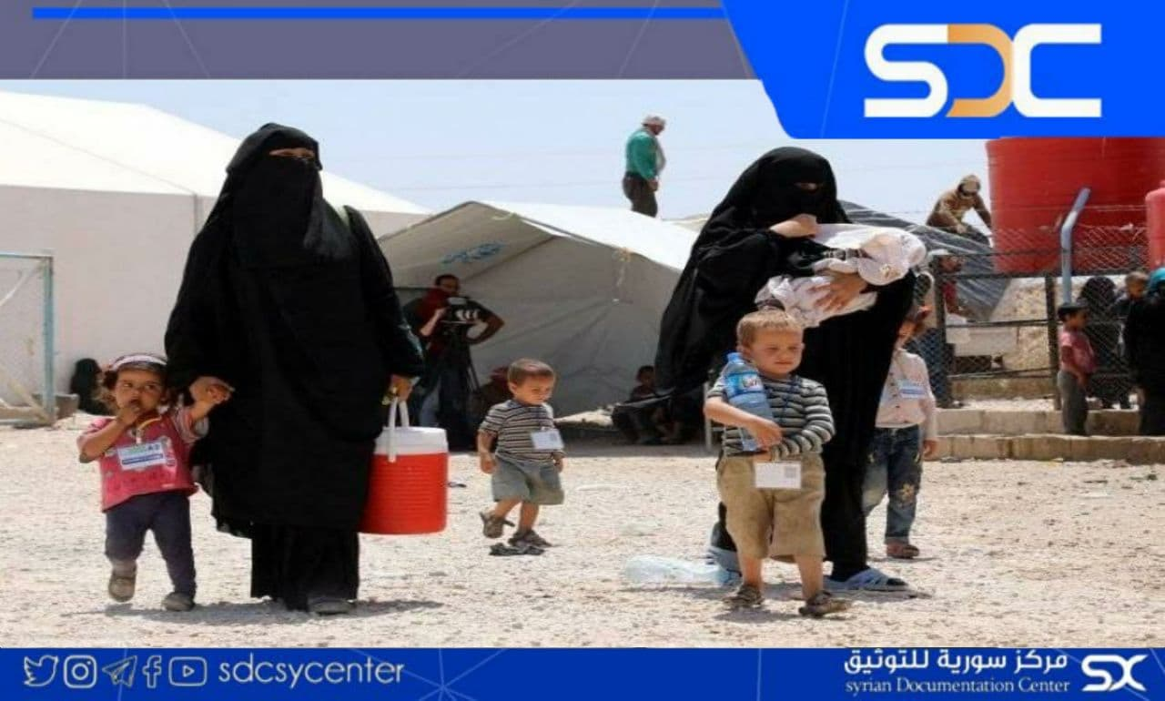 "Russia calls on the international community to save children in ""Al-Hol"" camp."