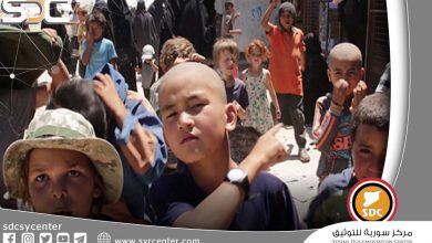 The UN warns against detaining children of ISIS militants in the SDF camps.