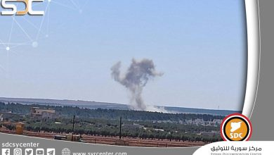 """Russian warplanes target Turkish militants camps in the countryside of """"Afrin"""""""