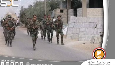 """A new settlement in Daraa extends to """"Khirbet Ghazala"""" and the Syrian army is sweeping """"Giza"""""""